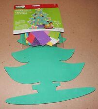 Christmas Foam Build A Scene Creatology Craft Kit Christmas Tree 42pc 107P
