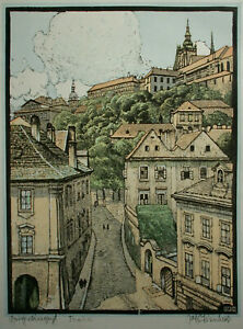 Karel Koubek (1896-1940) Prag - Malá Strana