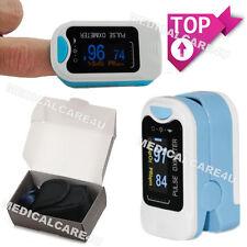 oxímetro de pulso de dedo, un medidor de oxígeno en la sangre, monitor de SpO2