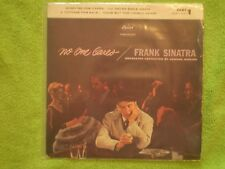 "Frank Sinatra ""No One Cares"" VG/VG Capitol EAP 1-1221 Part 1 Hi-Fi 45 RPM Vinyl"