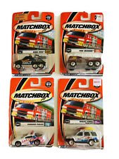 Matchbox Lot Of 4 Cars And Trucks Diecast Car New
