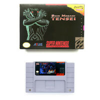 Shin Megami Tensei for snes game cartridge english translated