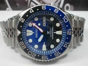 LOVELY SAVE THE OCEAN MOD SEIKO 7S26-0020 SKX007 AUTOMATIC MENS WATCH 380749.