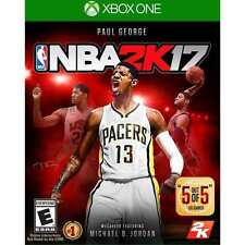 NBA 2K17 RE-SEALED Microsoft Xbox One 1 XB XB1 XB3 BASKETBALL GAME 2017 17