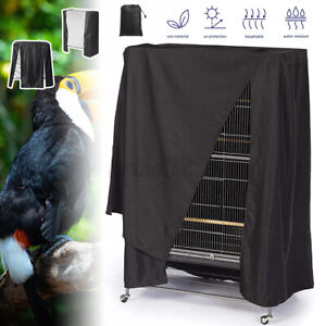 Large Pet Bird Cage Night Cover Parrot Guard Catcher Bag Dust Proof Waterproof