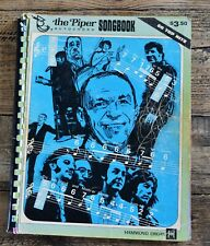 Vintage The Piper Autochord Hammond Organ - Songbook - 50 Top Hits