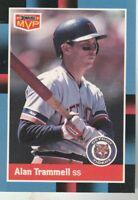 FREE SHIPPING-MINT-1988 Donruss MVP #BC-11 Alan Trammell Tigers PLUS BONUS CARDS