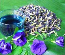 100% Thai Dried Butterfly Pea Tea Flower Tea Herbal Tea Natural Blue Food