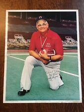 Woody Hayes Signed 16x20 Ohio State Football Head Coach Autograph PSA/DNA