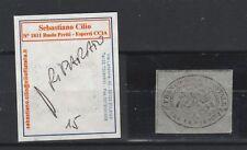 FRANCOBOLLI - 1867 STATO PONTIFICIO C.3 GRIGIO D/5064