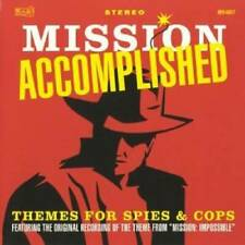 Mission Accomplished: Themes for Spies & Cops - Audio CD - VERY GOOD