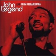 "JOHN LEGEND ""LIVE FROM PHILADEPHIA"" CD NEW+"