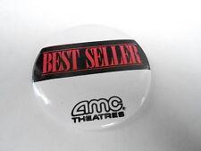 VINTAGE PROMO PINBACK BUTTON #84-166 - AMC THEATRES - BEST SELLER