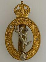 Britain British Army Royal Corps of Signals Metal Cap Badge