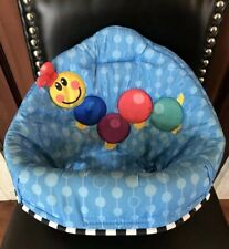New listing Baby Einstein Musical Motion Jumper Blue Caterpillar Seat Cover Replacement Part