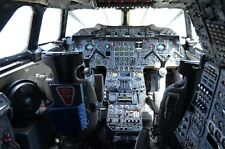 Concorde Cockpit Airliner Pilot Airplane Air France HD POSTER
