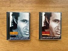 2x Minidisc Jean Jacques Goldman Singulier album music compilation