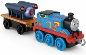 Thomas & Friends ~ Trackmaster Push Along ~ Rocket Thomas Die-Cast Engine
