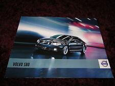 FOLLETO de Volvo S80 2011-Problema de 04/2010