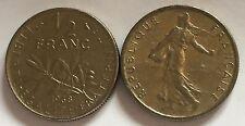 1/2 Franc Semeuse Nickel 1968