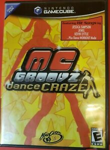 MC Groovz Dance Craze (Nintendo GameCube, 2004) GAME COMPLETE ~TESTED~