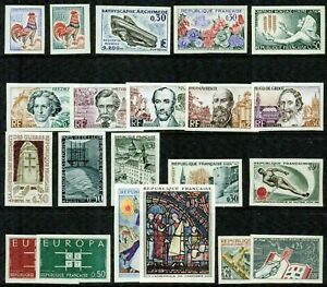 FRANCE – 1963 –IMPERF. COLLECTION – VF  **