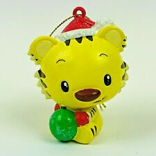 "Nick Jr Ni Hao Kai Lan Rintoo the Tiger 3"" Tall PVC Christmas Ornament Figure"