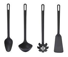 Set 4 pièces ustensiles de cuisine Cuillère Louche Cuillère à spaghetti Pelle
