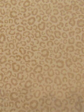 Sarafina Cream  Animal Safari Cheetah Leopard Panther African Sofa Upholstery