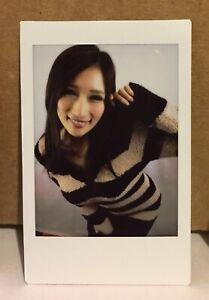 JULIA (じゅりあ) Striped Winter Sweater Fuji Cheki RARE JAV (Only One) 1/1 HOT