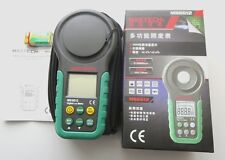 MASTECH MS6612 200,000 Lux Light Meter Test Spectra Auto Range Digital Luxmeter