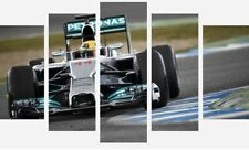 LEWIS HAMILTON F1 BRITISH CHAMPION SPLIT PANEL WALL ART CANVAS PICTURE PRINTS