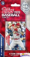 St. Louis Cardinals 2020 Topps Limited Edition 17 Card Team Set-Wainwright+++