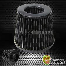 3'' Inlet Carbon Fiber Short Ram/Cold Intake High Flow Mesh Air Filter Universal