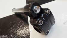 New 21.1 BLACK Stem for Old School Mongoose BMX Bike Freestyle Bicycle