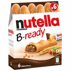Nutella B Ready Waffel mit Haselnuss Brotaufstrich Füllung 132g