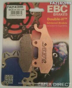 EBC Sintered REAR Disc Brake Pads Fits TRIUMPH DAYTONA 955i (Single Sided S/Arm)