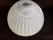 ... VINTAGE ART DECO MARBLED GLASS TORCHIERE LAMP SHADE #