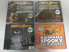 SINISTER HALLOWEEN SOUND EFFECT SET TWISTED BEYOND THE GRAVE SPOOKY (CD)  AUDIO
