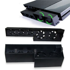HOT!!! USB External Turbo Cooling 5 Fan Temperature Control For PS4 Playstation4