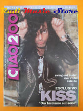 rivista CIAO 2001 29/1992 Kiss Genesis Suicide Mango Swing Out Sster  No cd