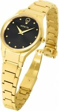 New Womens Invicta 23279 Gabrielle Union Gold Tone Bracelet Watch
