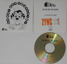 The Heavy  Oh No! Not You Again!  U.S. promo cd  card sleeve