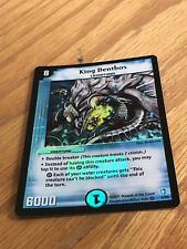 Duel Masters, KING BENTHOS 2/55 DM-07 VERY RARE HOLO NEVER PLAYED  NM/MINT