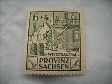 One 1946 Fine/Unused Saxony/Prussia Land Reform Stamp (re-issue)