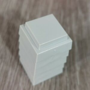 Advance to Boardwalk board game replacement part pieces - 5 gray hotels