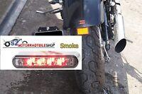 Mini LED Rücklicht Rückleuchte smoke Schwarz getönt ( 4cm ) E-geprüft