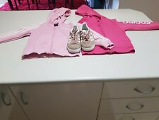 Adidas Girls Hoodies And Shoes