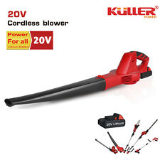 NEW 20V Cordless Lithium leaf blower variable speed KIT with battery and charger