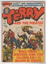 Terry and the Pirates  #6  (Harvey 1947)  VG